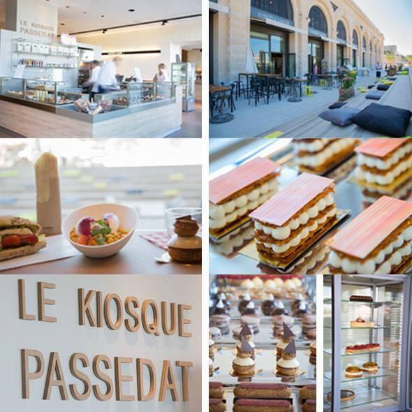 Le Kiosque - Le Môle Passedat - Restaurant Mucem Marseille