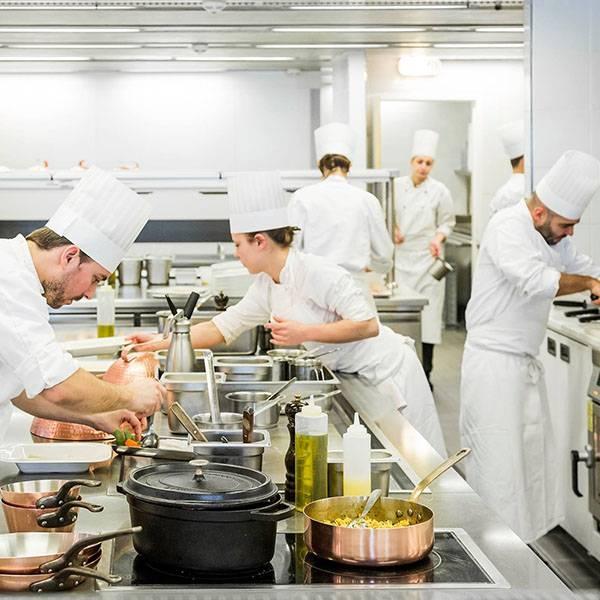 L'école de cuisine - Le Môle Passedat - Restaurant Mucem Marseille