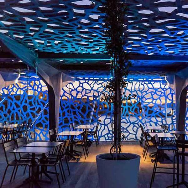 La terrasse - Le Môle Passedat - Restaurant Mucem Marseille