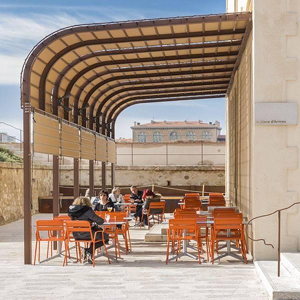 Le Café - Le Môle Passedat - Restaurant Mucem Marseille